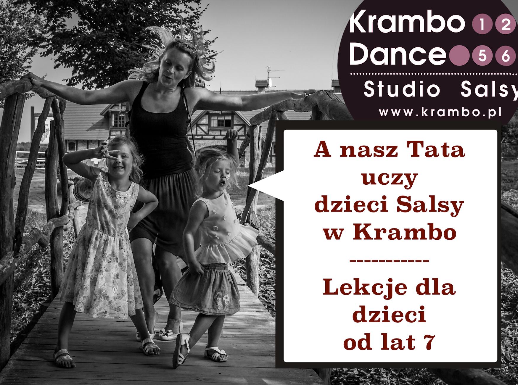 taniec dla dzieci lekcje tańca dla dzieci salsa dla dzieci